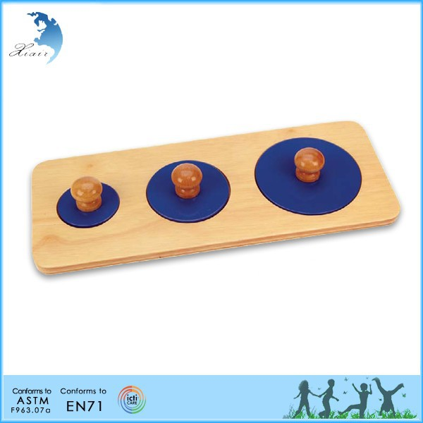 Preschool wooden educational classroom training montessori AMI toy