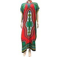 2016 Latest Embroidery Designs Maxi Dress African Abaya