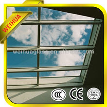 10mm tempered glass roof from manufacturer