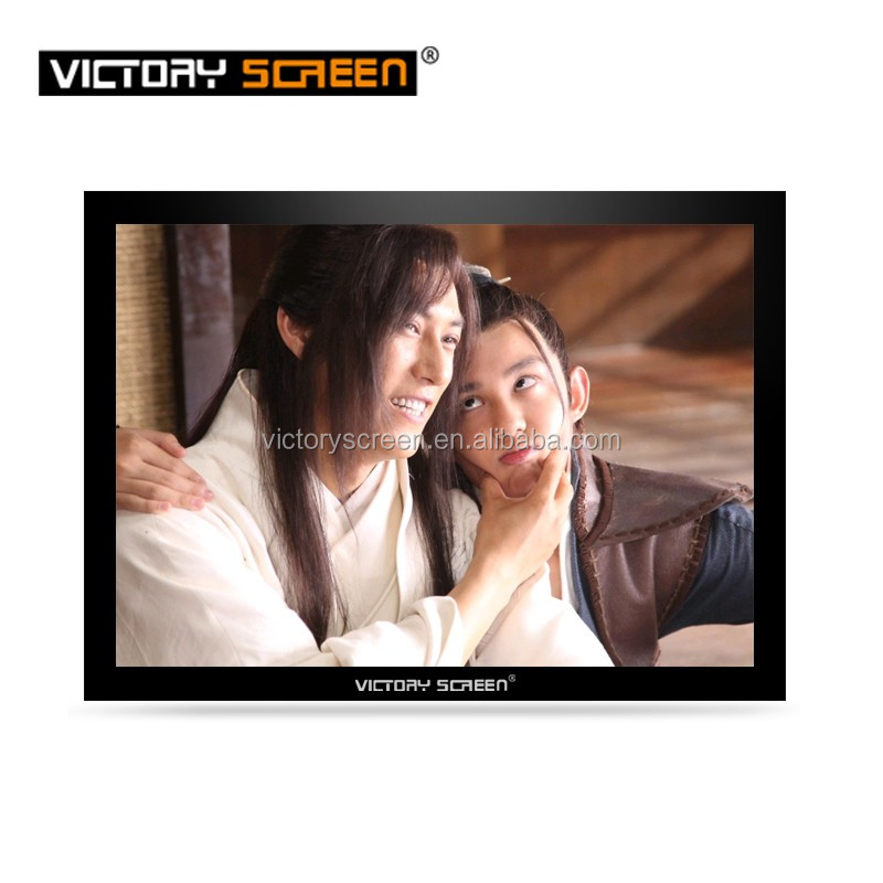 Victory vivid picture fixed frame projector screen