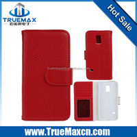 Hot Selling Credit Card Slot Wallet Leather Case For Samsung Galaxy S5 Mini