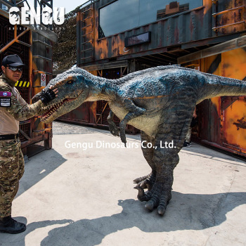 Most Popular Realistic Walking Dinosaur Costume For Display