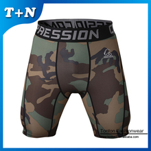 Good Elastic Spandex Strong Men Gym Compressed Shorts Wholesale Custom