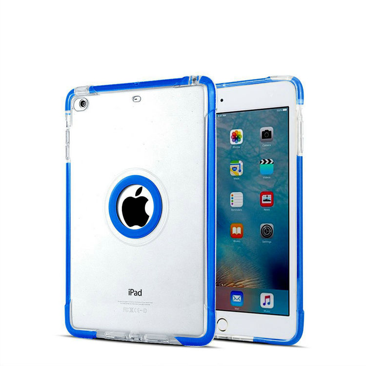 "TPU+PC soft hard frosted matte case skin cover for Apple iPad Mini 7""tablet"