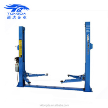 2017 China cheap two post hydraulic car lift Tongda TDY 2D40M used 2 post car lift for sale