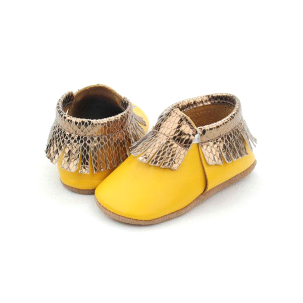Bright color kids prewalker fancy fitting baby casual shoes moccasins