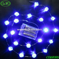LK 2013 latest design battery christmas lights outdoor
