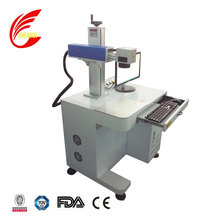 fiber laser 10w/20w/30w laser marking machine metal marking logo hallmark barcode/engraving machine for metal