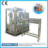 Aluminum foil pouch with spout/standing pouch with spout/spouted bag filling capping machine