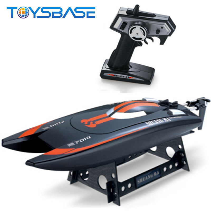 Large Scale RC Boats Wholesale - 7014 Hobby Model 2.4G Racing High Speed 1 4 Scale RC Boats