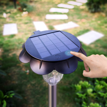 solar led touch remore control garden light, Outdoor Garden Lights,  Outdoor Landscape Lighting for Lawn, Yard, Patio, Walkway