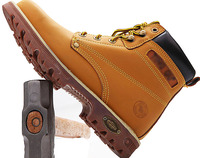 nubuck leather oem climbing steel toe plate industrial work custom made protective safety boots for man