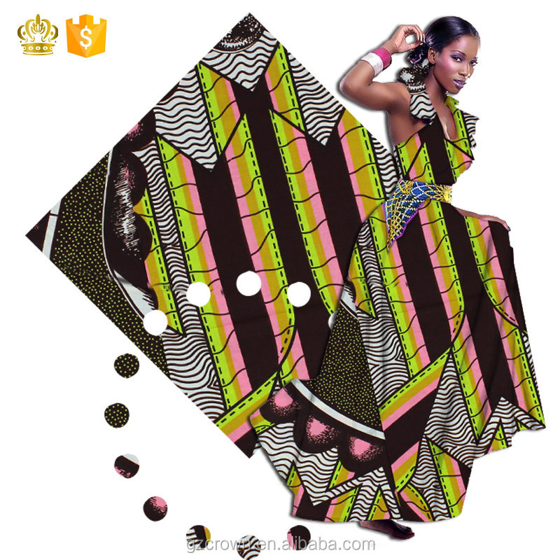 Many Beautiful pattern!!Low price!!New design figure pattern hollandais wax print african wax prints fabricH170110015