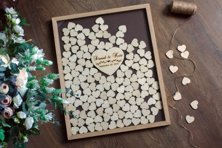 high quality factory price wedding guestbook