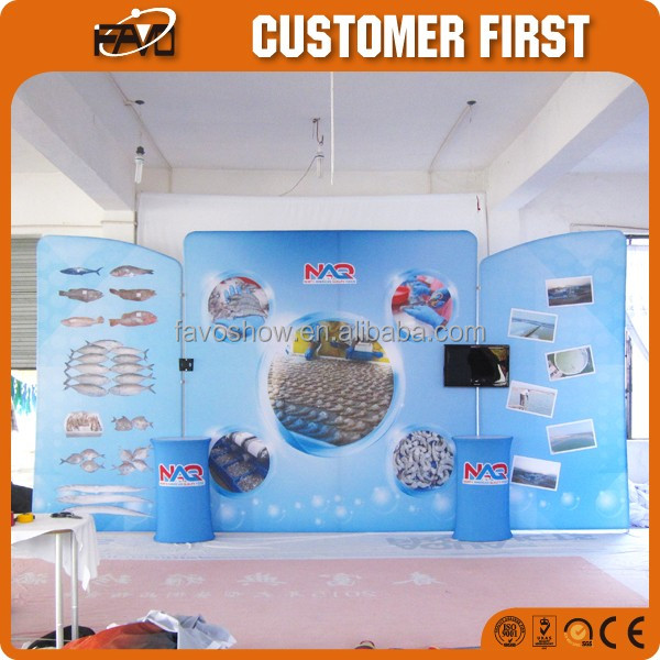Portable Cheap Custom Printed Popalar High Quality Exhibition Frame