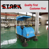 SDK-1760 CE ISO tractor mounted forklift mechanical road sweeper with four side brushes