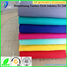 china hot sale dyed cotton plain bed sheets/bed sheets 50% cotton 50 polyester/t80 c20 bed sheet fabric
