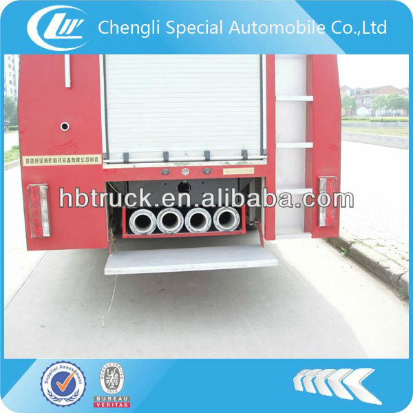 FAW foam fire fighting truck 6000 liters
