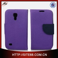 Top selling tpu leather hybrid cell phone flip cover for samsung galaxy s4mini i9190