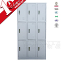 Metal 9 Door Locker Storage Locker Organizer Oem Parcel Locker