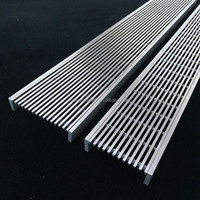 stainless steel shower long floor drain