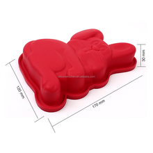 Animal shaped silicone cupcake moulds Bunny rabbit silicone cake molds