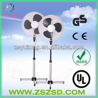 "16"" good quality stand fan with cross base"