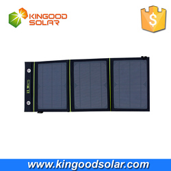 hot sale factory price solar charger foldable 15W solar panel from Shenzhen