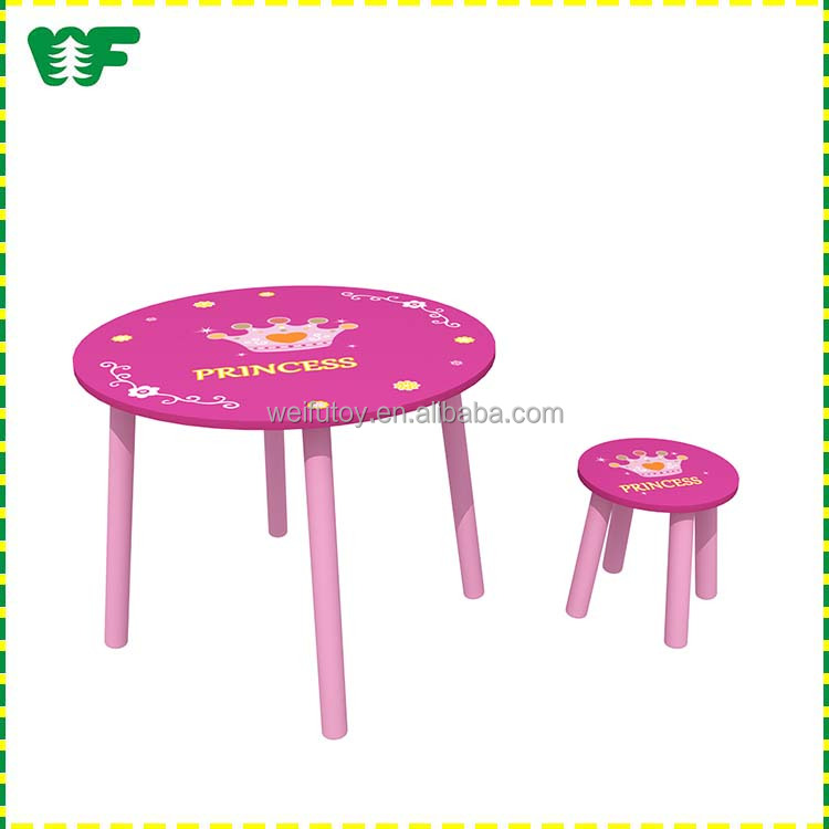 Wooden good price childrens table chairs