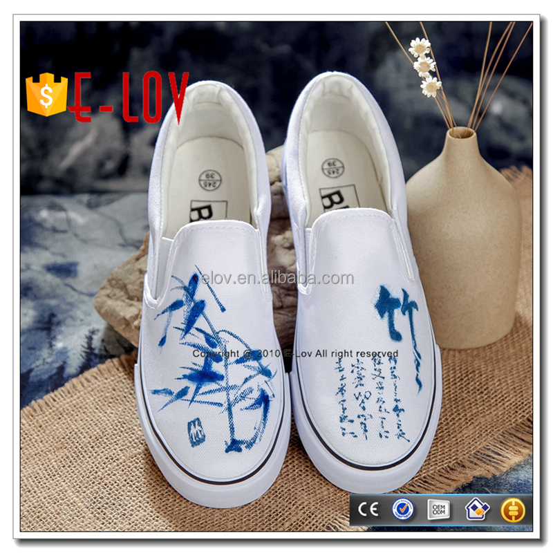 Retro Chinese style handmade shoes men sport shoes for sale