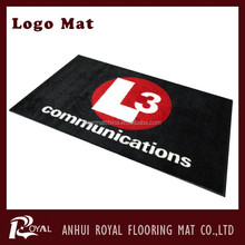 Rubber backed washable rugs/Logo Mat/Entrance Door Mat