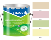 Water-based emulsion paint for exterior Acrylic wall emulsion paint