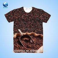 All over animal printed cheap boys t shirt/polo man