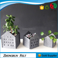 Alibaba New Arrivel Custom Home Storage Decorations Handmade Felt Decorative Storage Box