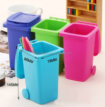 plastic desktop pen holder