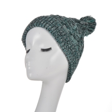 Fashion blank knitted beanie hat cap headwear