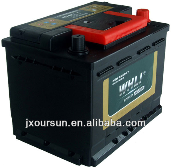 Auto spare part 12 volta lead acid battery 55530MF WHLI