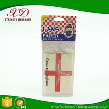 Wholesale Hanging Paper Car Deodorant/Car Air Freshener