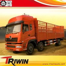 6x2 8-wheel drive chinese new brand diesel engine 13ton 14ton 15ton euro4 high performance animal transport truck