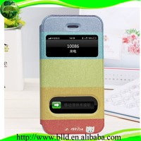 OEM Printing Sublimation Leather Flip Cover for Iphone 5S 5C