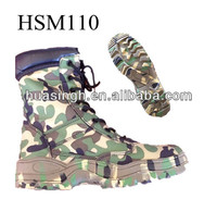 JY,ASTM certified 2012 woodland new arrival fighting style full camo canvas hunting boots