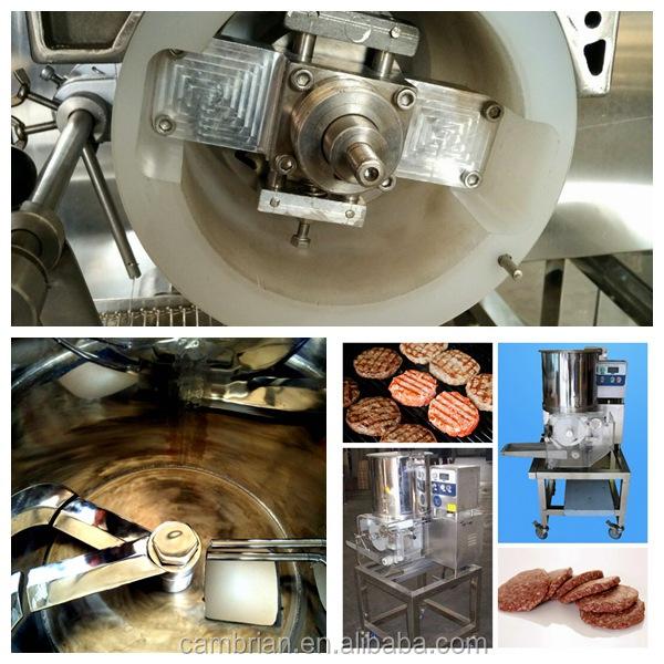 new generation automatic hamburger forming machine