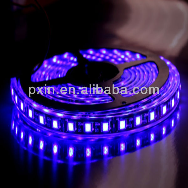SMD5050 Waterproof IP68 30leds/m single/RGB color