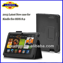 Latest New Case for Tablet LAUDTEC Stand Leather Case for Amazon Kindle Fire HDX 8.9