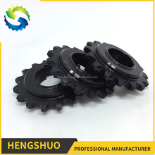 Factory price high precisionchain drive customized small size pulley wheels gear motorcycle chain sprocket