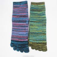 Mens Socks Colourful Men's Finger socks Five Toe Socks