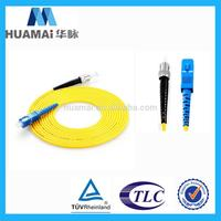 moderate quality lszh jacket fiber optic patch leads