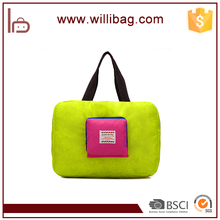 New Products Nylon Material Duffel Bag Type Foldable Travel Bag