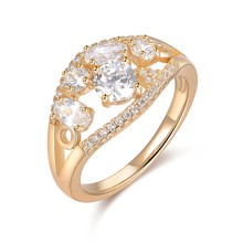 Wholesale Women Rhinestone Long Finger American Diamond Rings