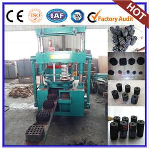 Compression moulding machine coal and charcoal powder briquette machine